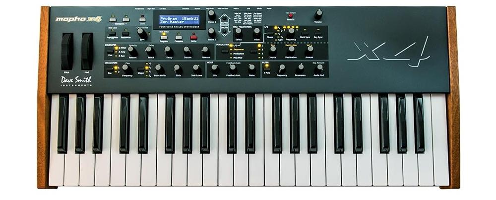 Синтезаторы и рабочие станции Dave Smith Instruments Mopho x4 Keyboard