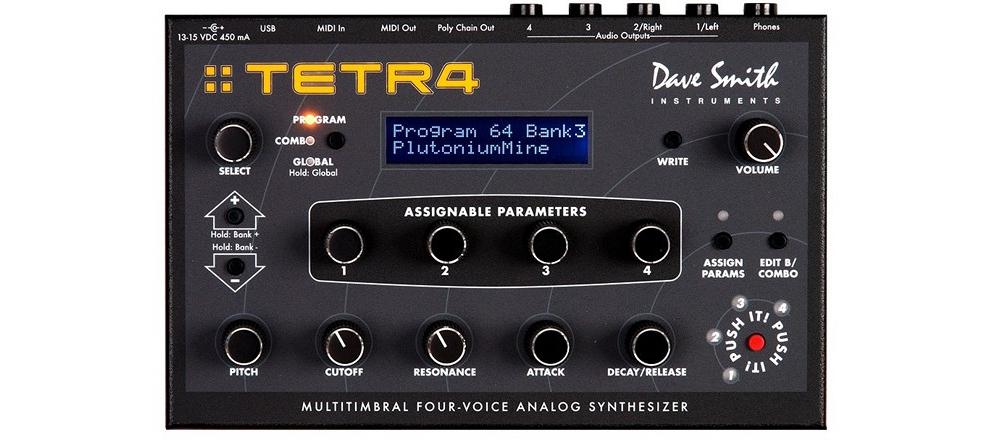 Синтезаторы и рабочие станции Dave Smith Instruments Tetr4