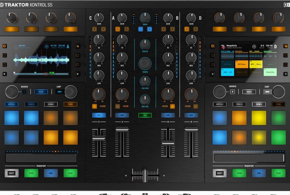 DJ-контроллеры Native Instruments TRAKTOR KONTROL S5