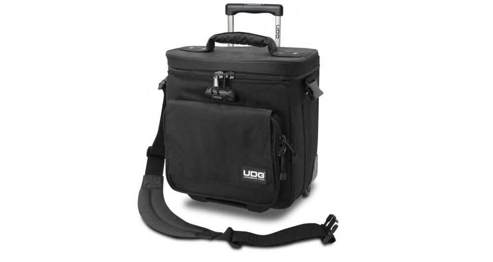 Сумки для пластинок UDG Ultimate Trolley To Go Black