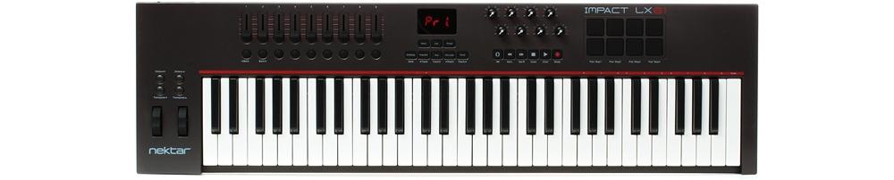 Midi-клавиатуры Nektar Impact LX61