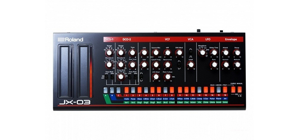 Синтезаторы и рабочие станции Roland Boutique JX-03