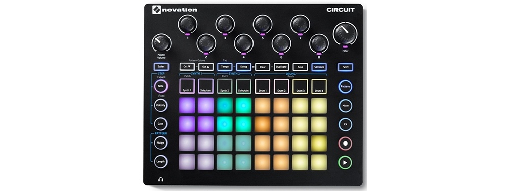 Грувбоксы Novation Circuit