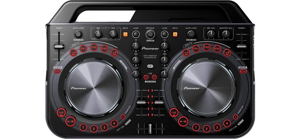 DJ-контроллеры Pioneer DDJ-WeGO2