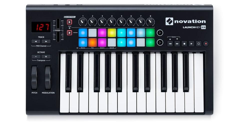 Midi-клавиатуры Novation LAUNCHKEY 25 MK2