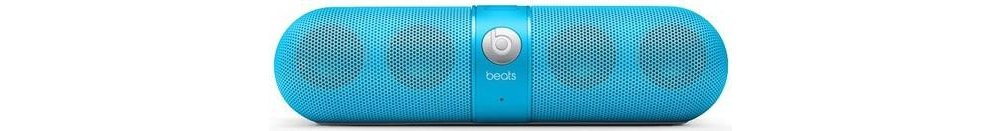 Acoustics  Beats by Dr. Dre Pill Black Neon Blue