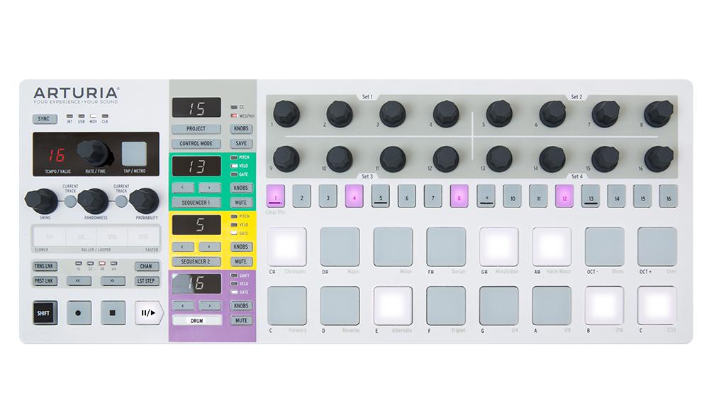 DJ-контроллеры Arturia BeatStep Pro