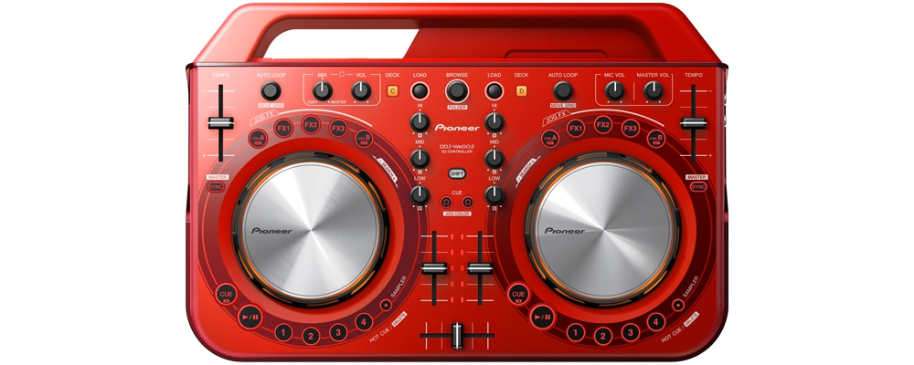 DJ-контроллеры Pioneer DDJ-WeGO2 Red