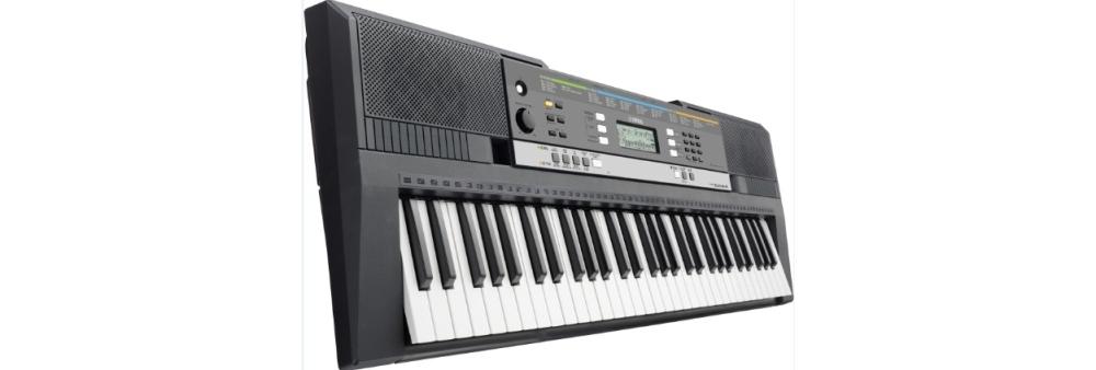 Синтезаторы и рабочие станции Yamaha PSR-E443 (+блок питания+стойка+сустейн-педаль)