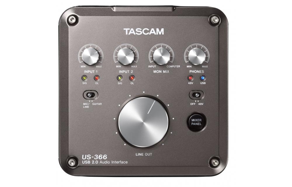 Звуковые карты TASCAM US-366