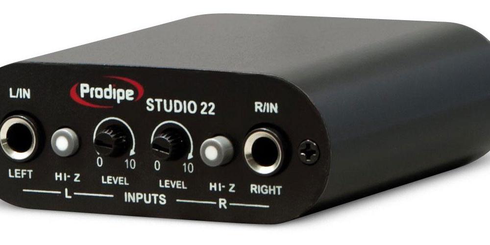 Звуковые карты Prodipe STUDIO 22 USB