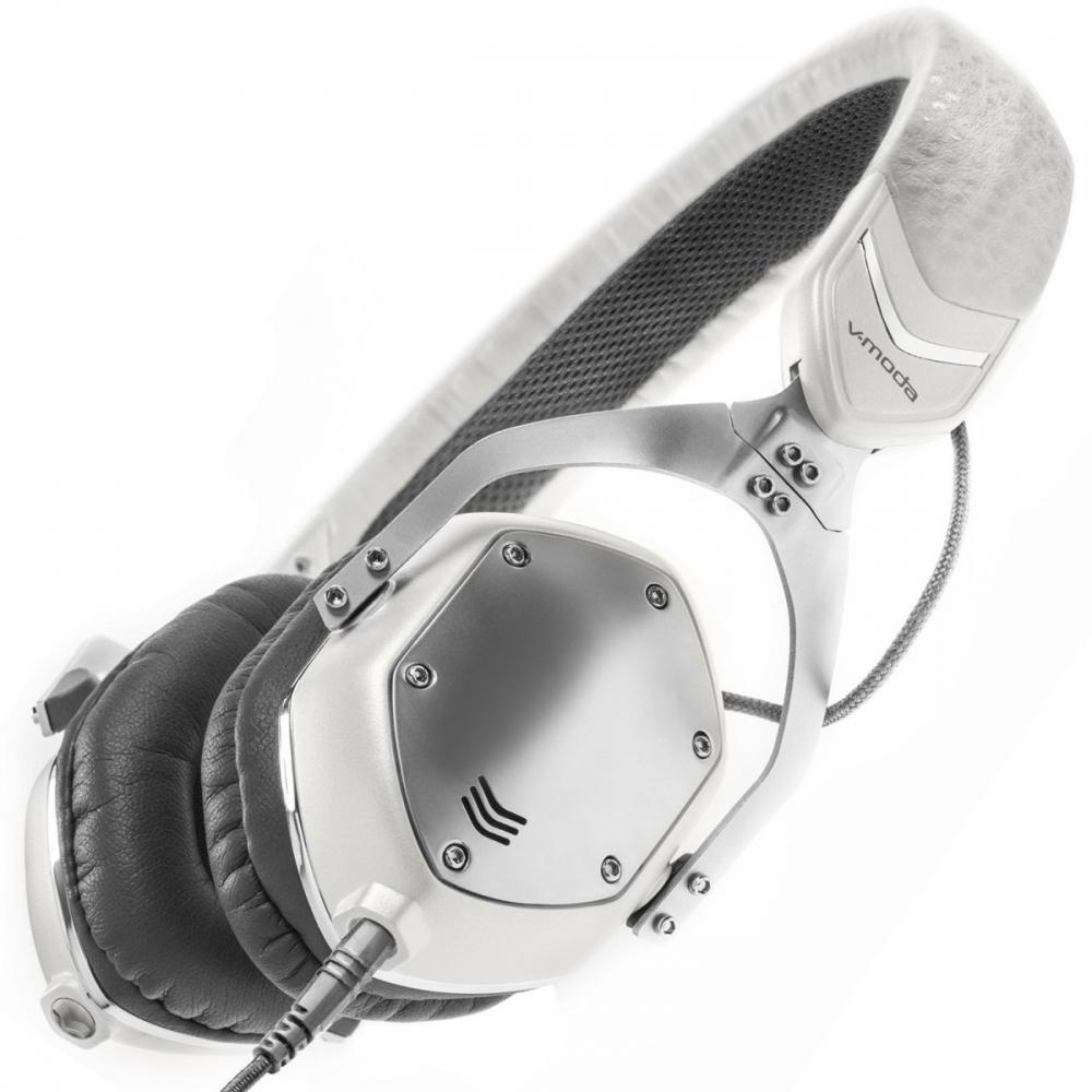 Наушники для аудиофилов V-Moda XS Collapsible White Silver