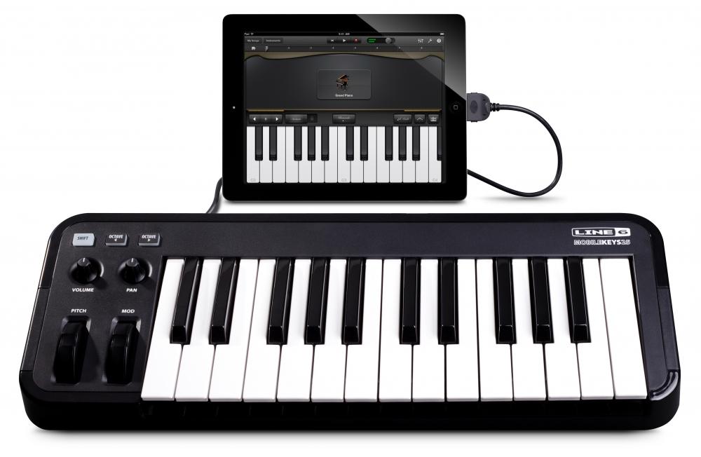 Midi-клавиатуры LINE6 MOBILE KEYS 25