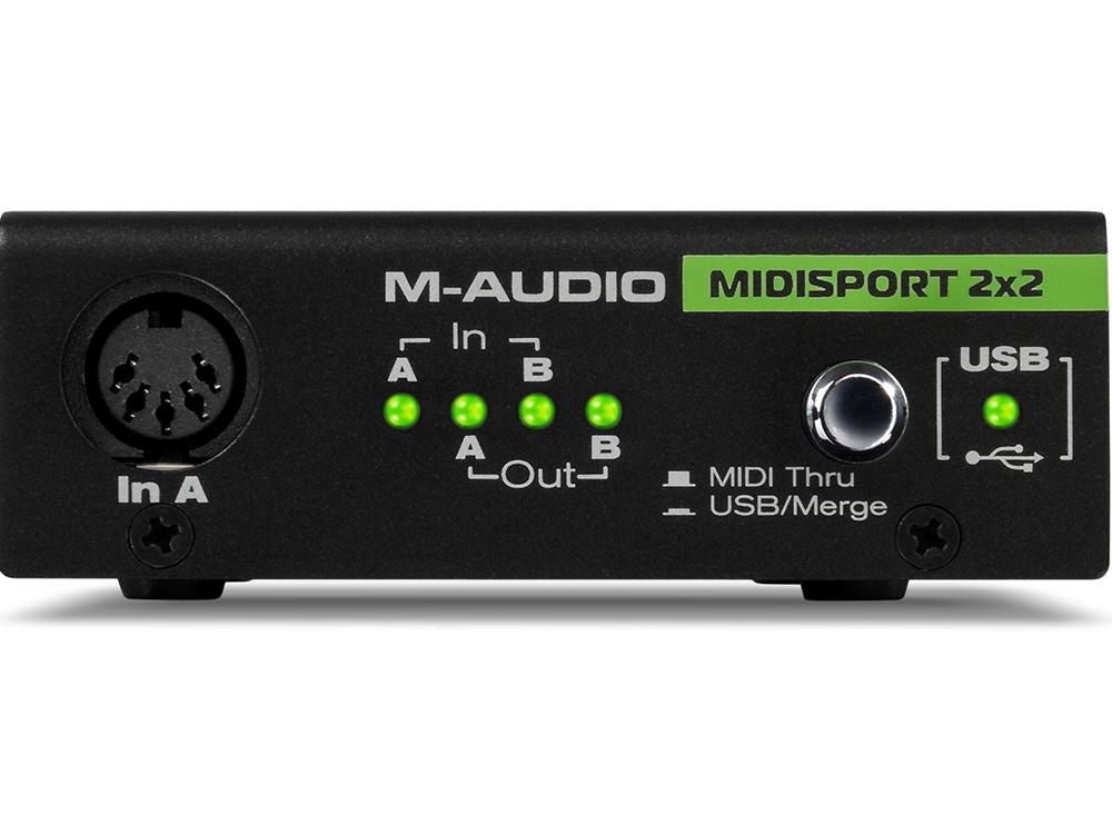Звуковые карты M-Audio MIDISPORT 2x2 Anniversary Edition