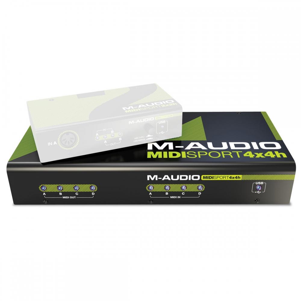 Звуковые карты M-Audio MIDISport Hub 4x4 Anniversary Edition