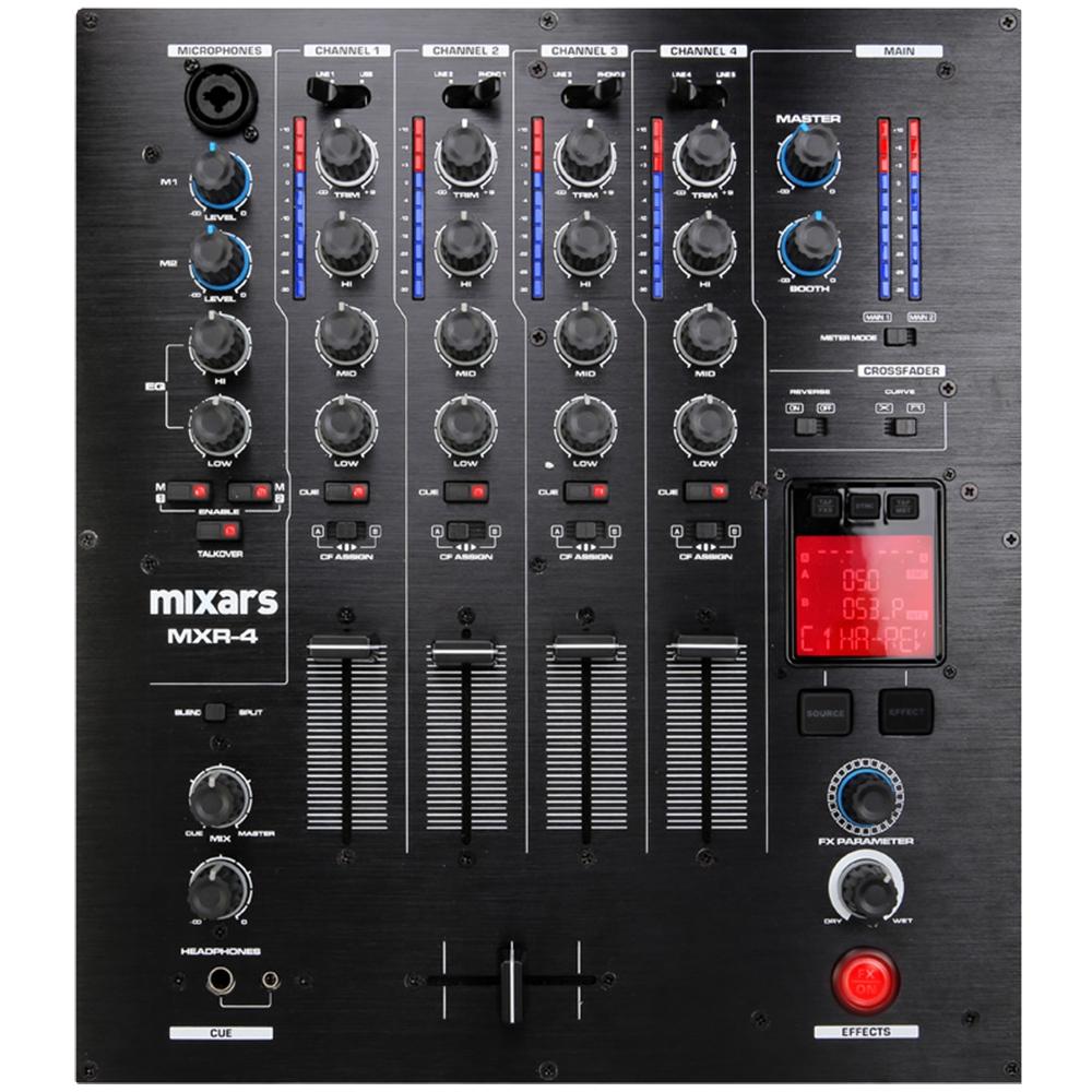 DJ-микшеры Mixars MXR-4