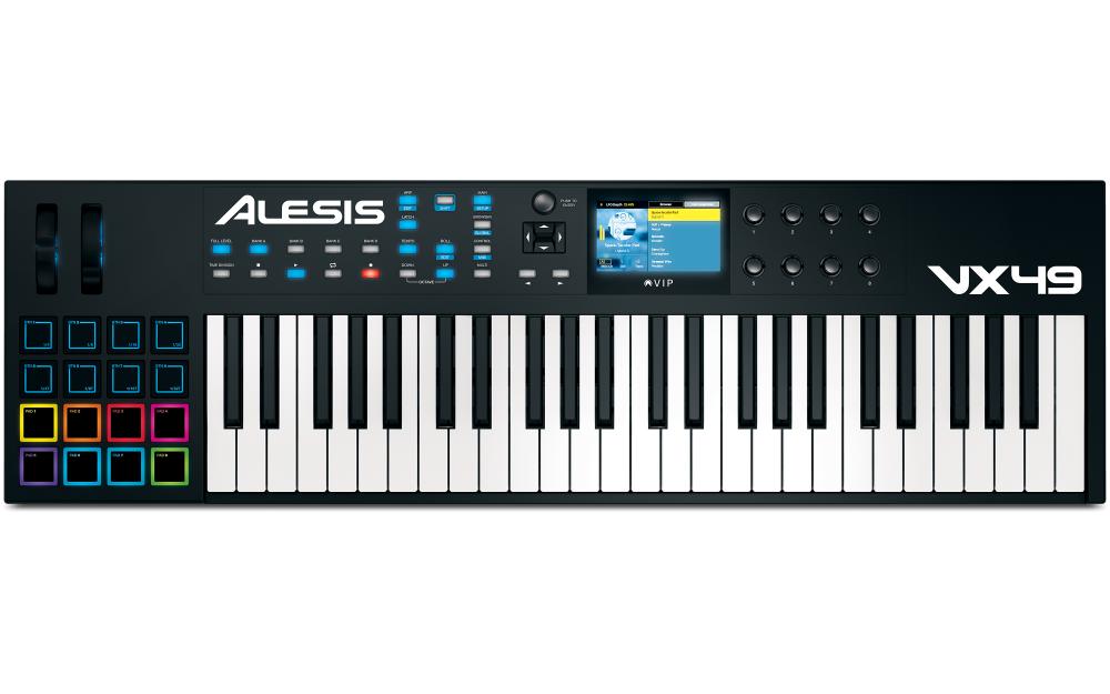 Midi-клавиатуры Alesis VX49