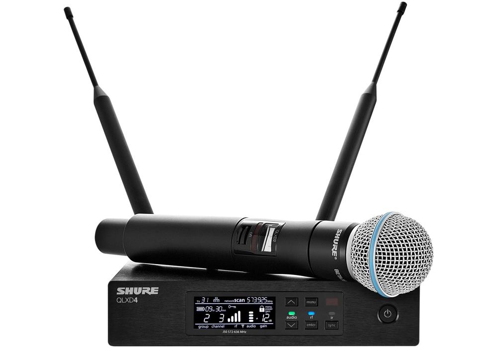 Все Микрофоны Shure QLXD24/B58