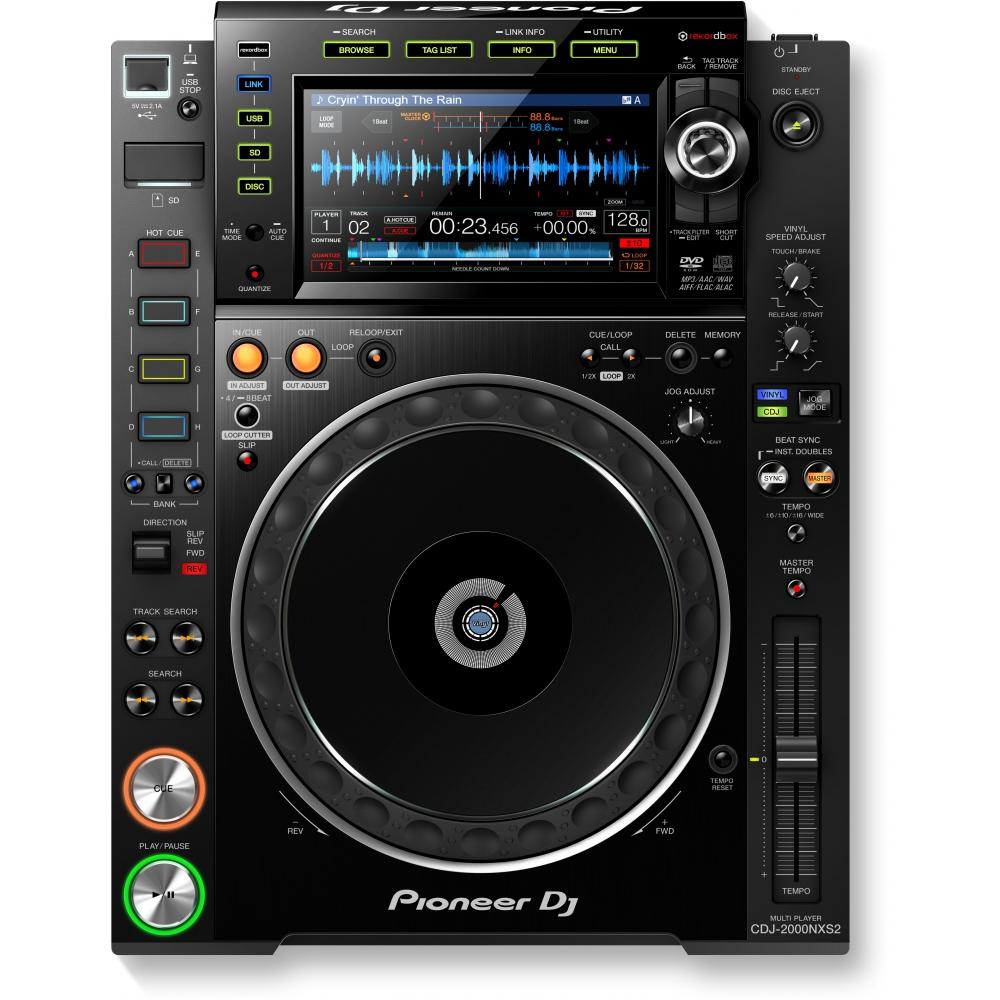 CD/USB-проигрыватели Pioneer CDJ-2000NXS2 (nexus2)
