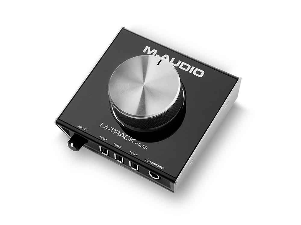 Звуковые карты M-Audio M-Track Hub