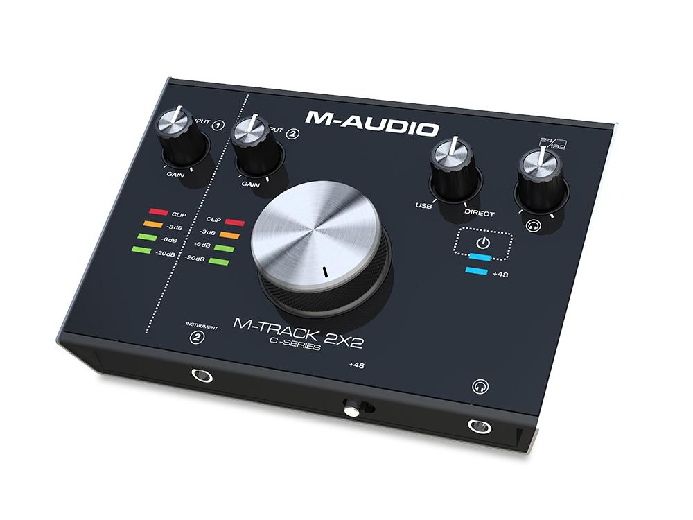 Звуковые карты M-Audio M-Track 2X2