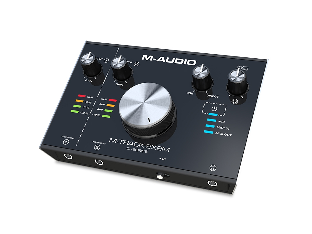 Звуковые карты M-Audio M-Track 2X2M