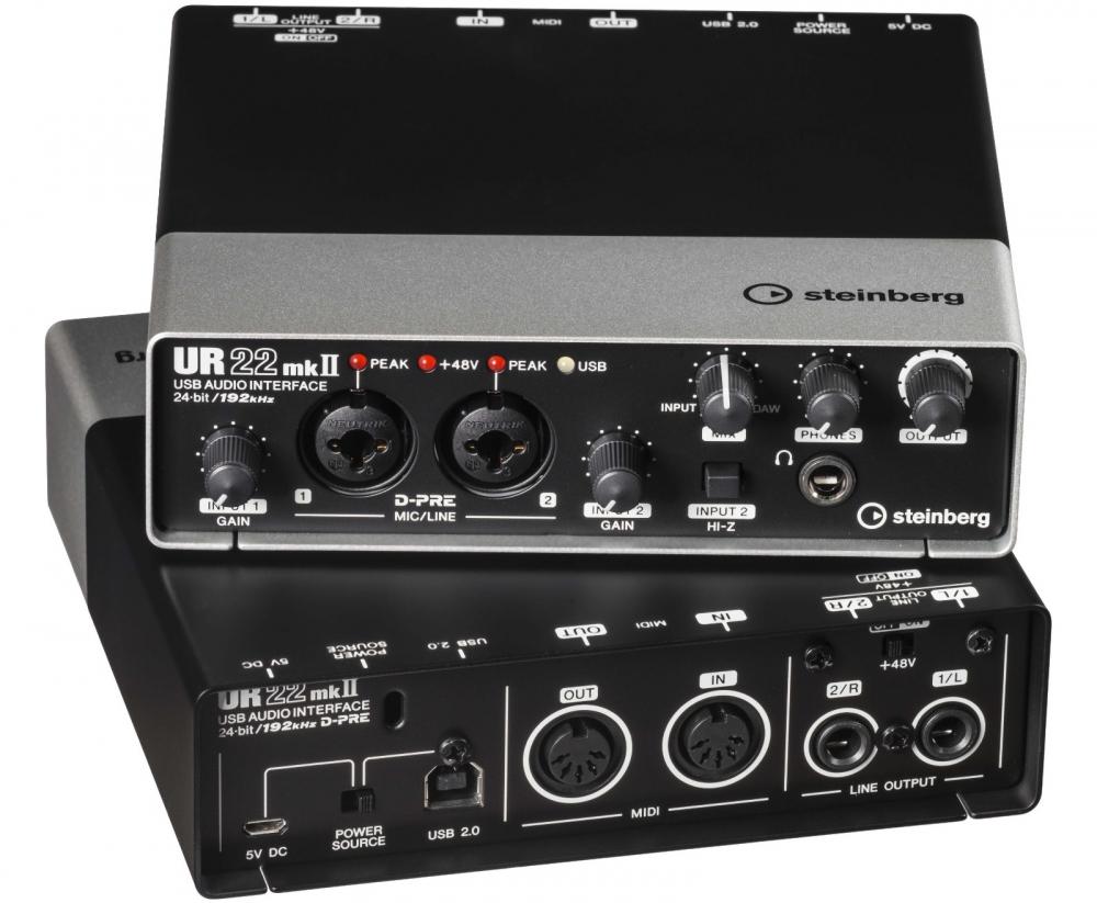 Звуковые карты Steinberg UR22 MKII