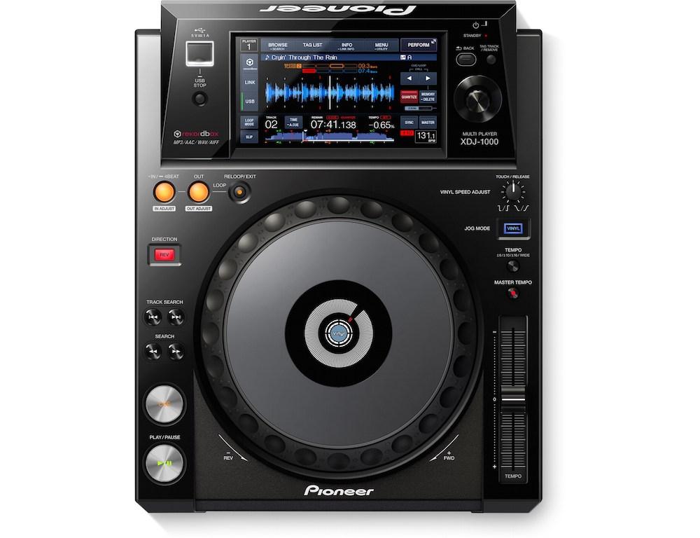 CD/USB-проигрыватели Pioneer XDJ-1000