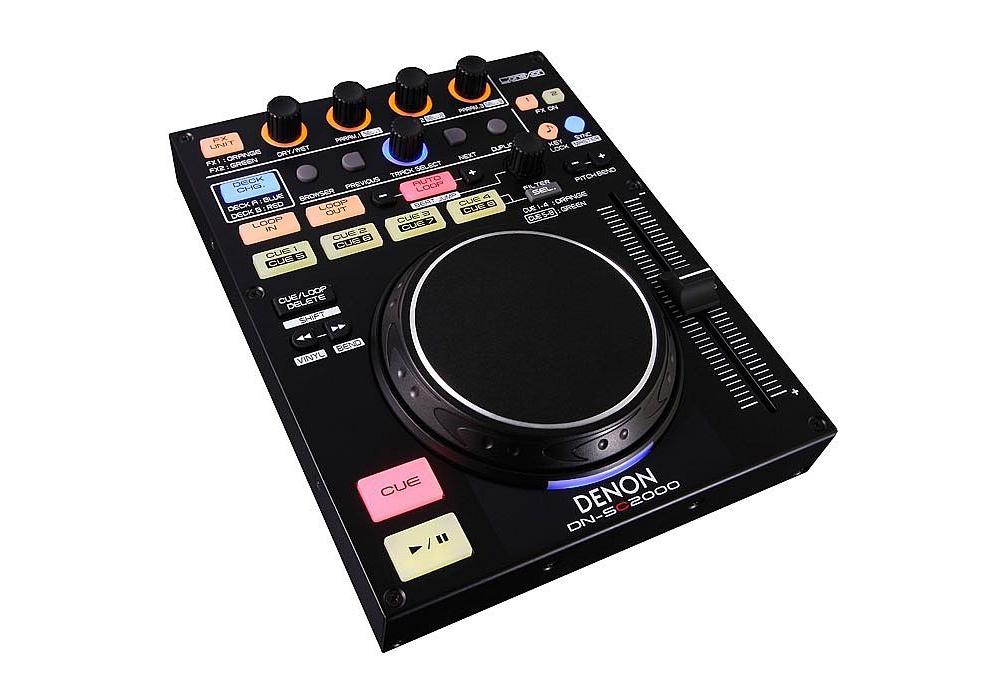 DJ-контроллеры Denon DN-SC2000