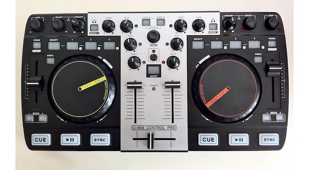 DJ-контроллеры MixVibes U-Mix Remote