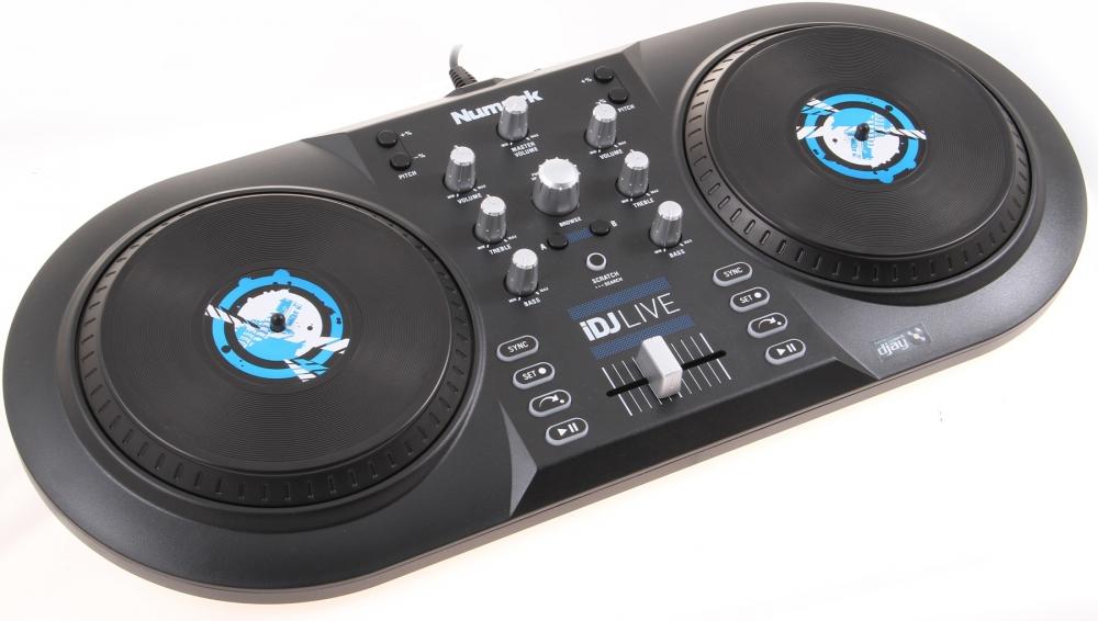 DJ-контроллеры Numark iDJ LIVE