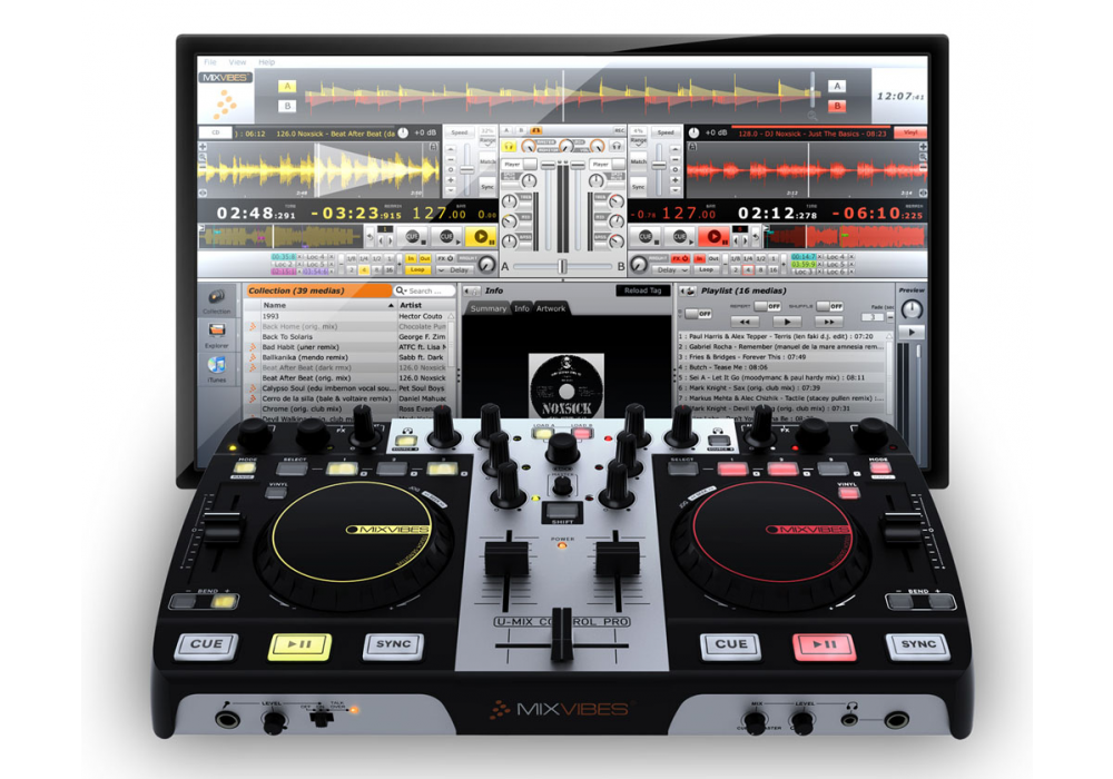 DJ-контроллеры MixVibes U-MIX CONTROL PRO and CROSS