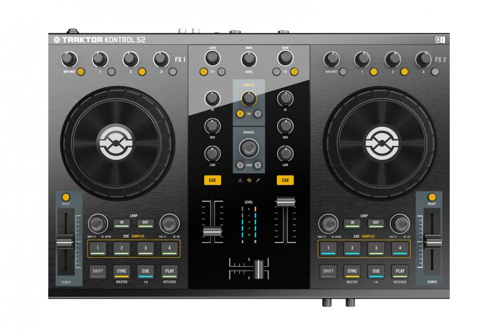 DJ-контроллеры Native Instruments Traktor Kontrol S2