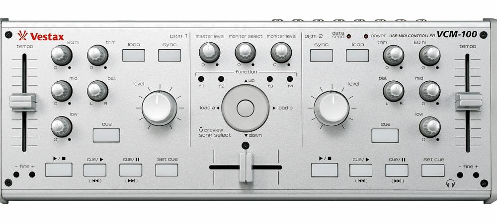 DJ-контроллеры Vestax VCM-100