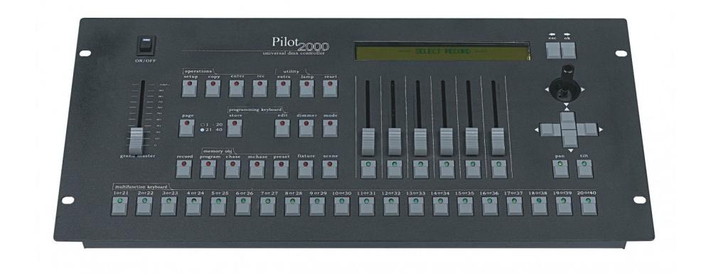 Контроллеры (DMX) Free color Pilot 2000