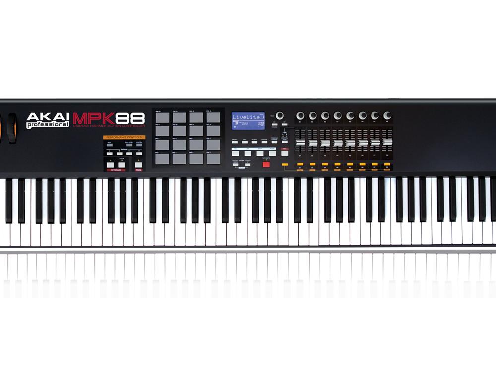 Midi-клавиатуры Akai MPK88