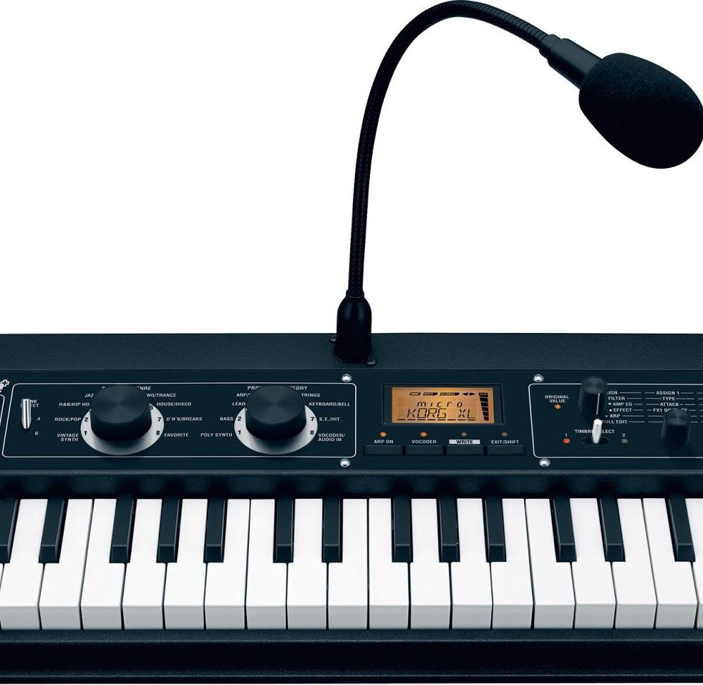 Midi-клавиатуры Korg Microkorg XL+