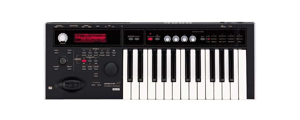 Midi-клавиатуры Korg Micro X