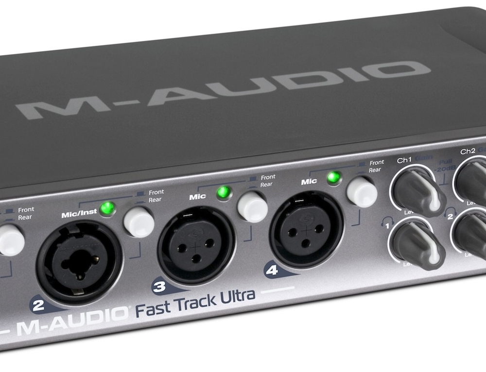 Звуковые карты M-Audio Fast Track Ultra