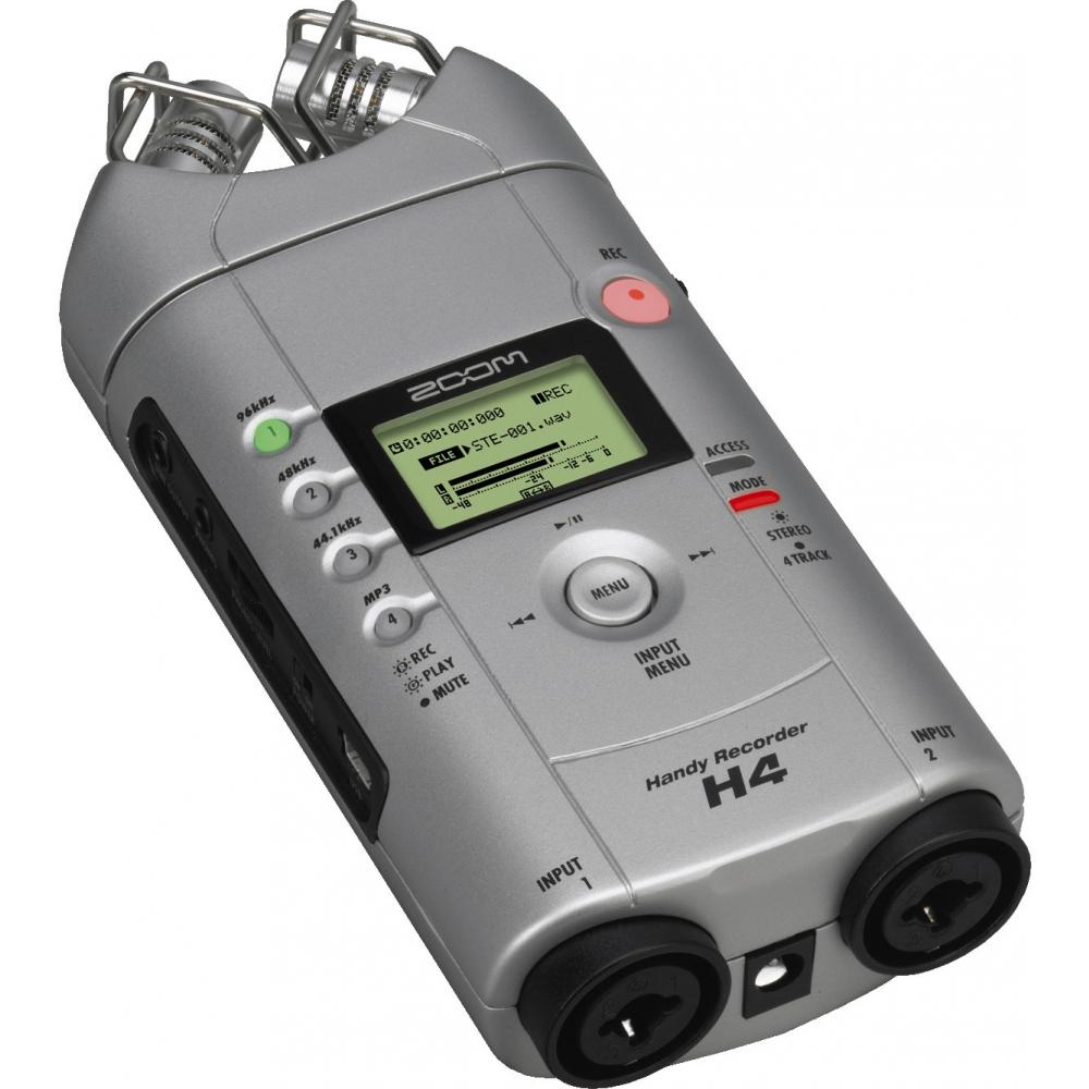Аудио конверторы, рекордеры Zoom H4