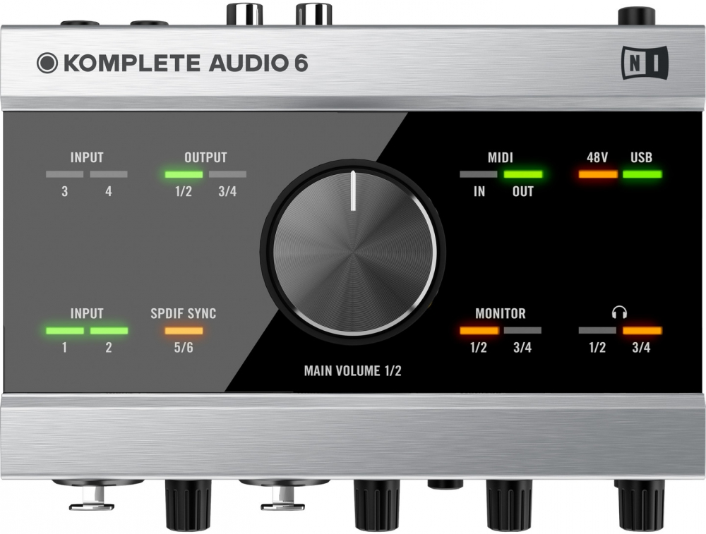 Звуковые карты Native Instruments Komplete Audio 6