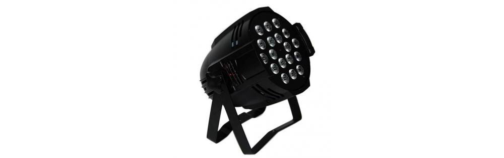 Прожекторы LED PAR Free Color P1810