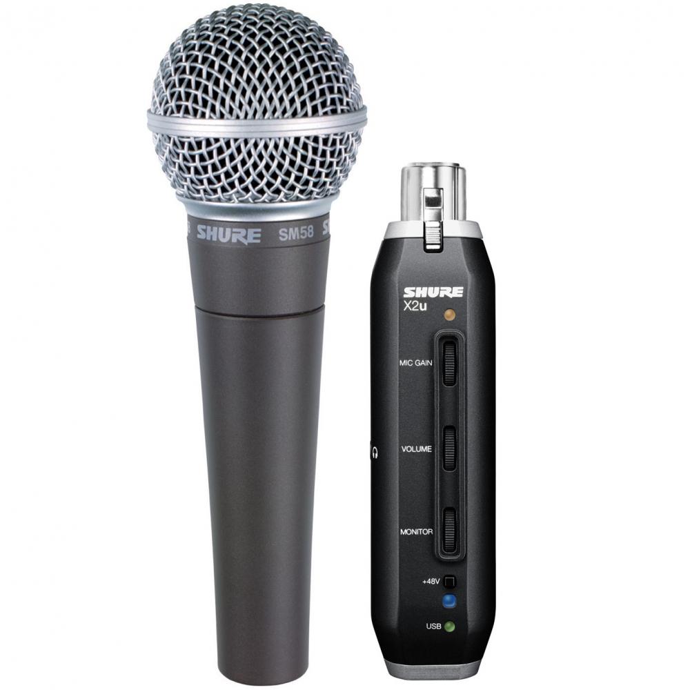 Вокальные микрофоны Shure SM58-X2u