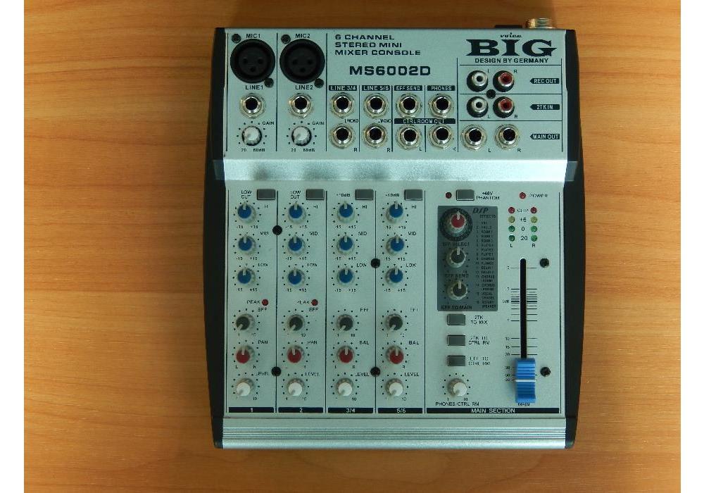 Микшерные пульты BIG MS6002D