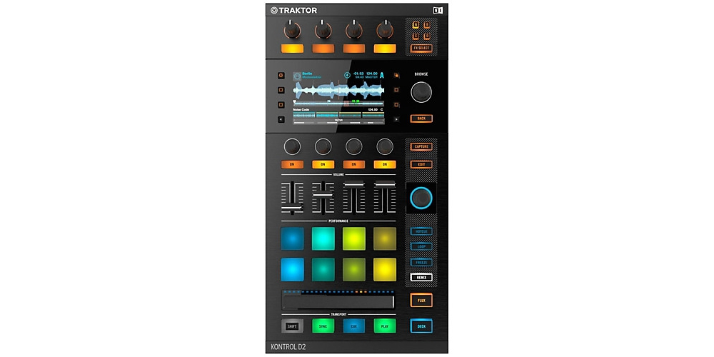 DJ-контроллеры Native Instruments Traktor Kontrol D2