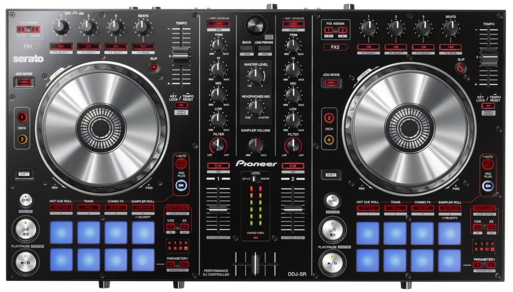 DJ-контроллеры Pioneer DDJ-SR
