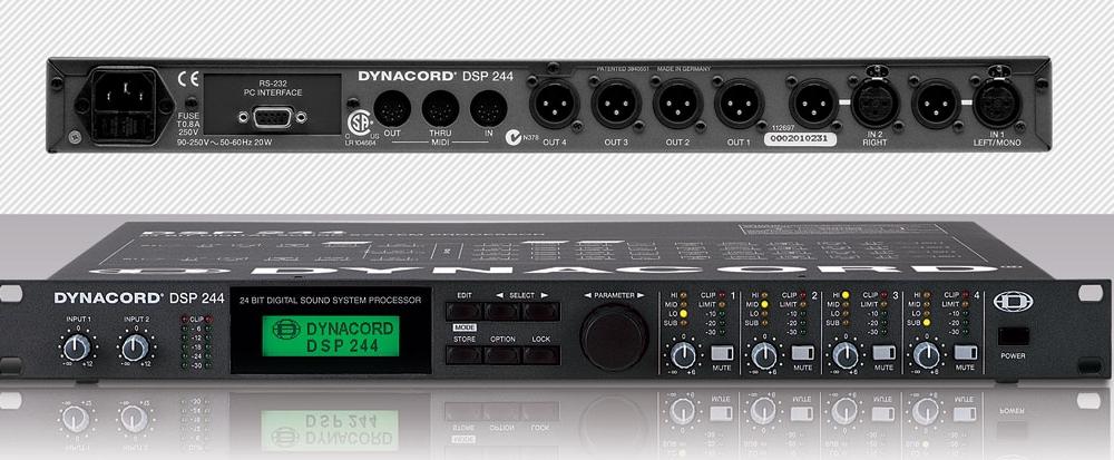Усилители мощности DYNACORD DSP-244