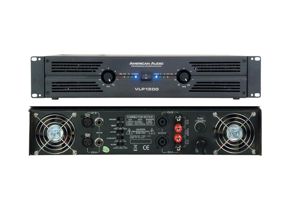 Усилители мощности American Audio VLP1500