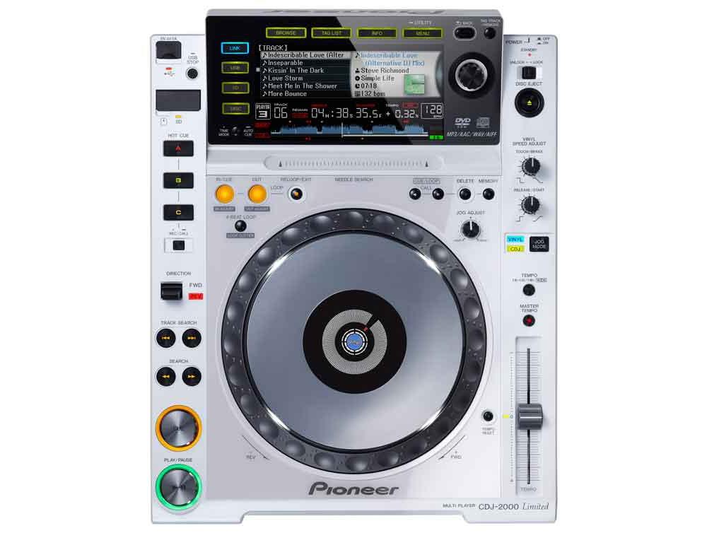 CD/USB-проигрыватели Pioneer CDJ 2000 white