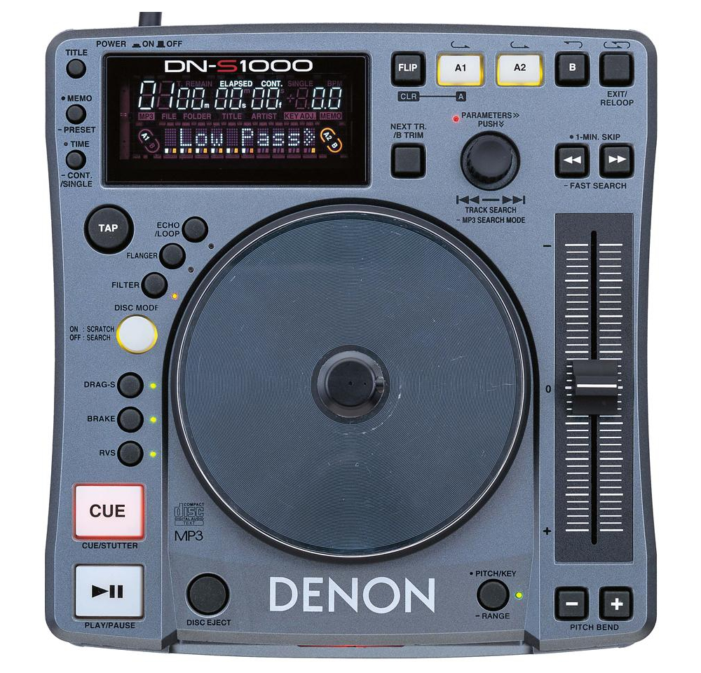 CD/USB-проигрыватели Denon DN-S1000 DJ